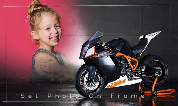 Bike photo frame - Bike photo editor screenshot 5
