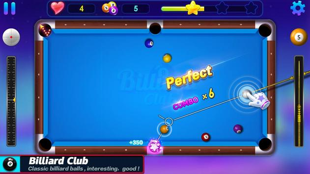 Billiards Club الملصق