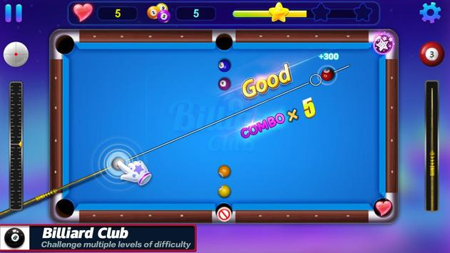 Billiards Club syot layar 1