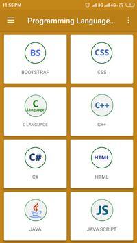 Programming Languages Codes poster