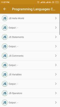 Programming Languages Codes screenshot 4