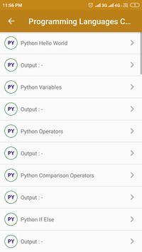 Programming Languages Codes screenshot 6