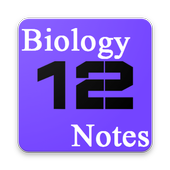 Class XII Biology Notes solved exercises, MCQs icon
