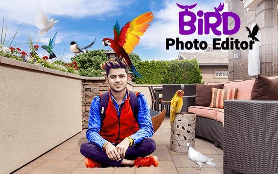 Bird Photo Editor poster