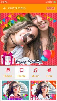 Birthday Video maker screenshot 16