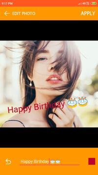 Birthday Video maker screenshot 18