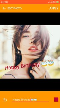 Birthday Video maker screenshot 10