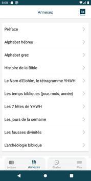 Bible de Yéhoshoua Mashiah ảnh chụp màn hình 1