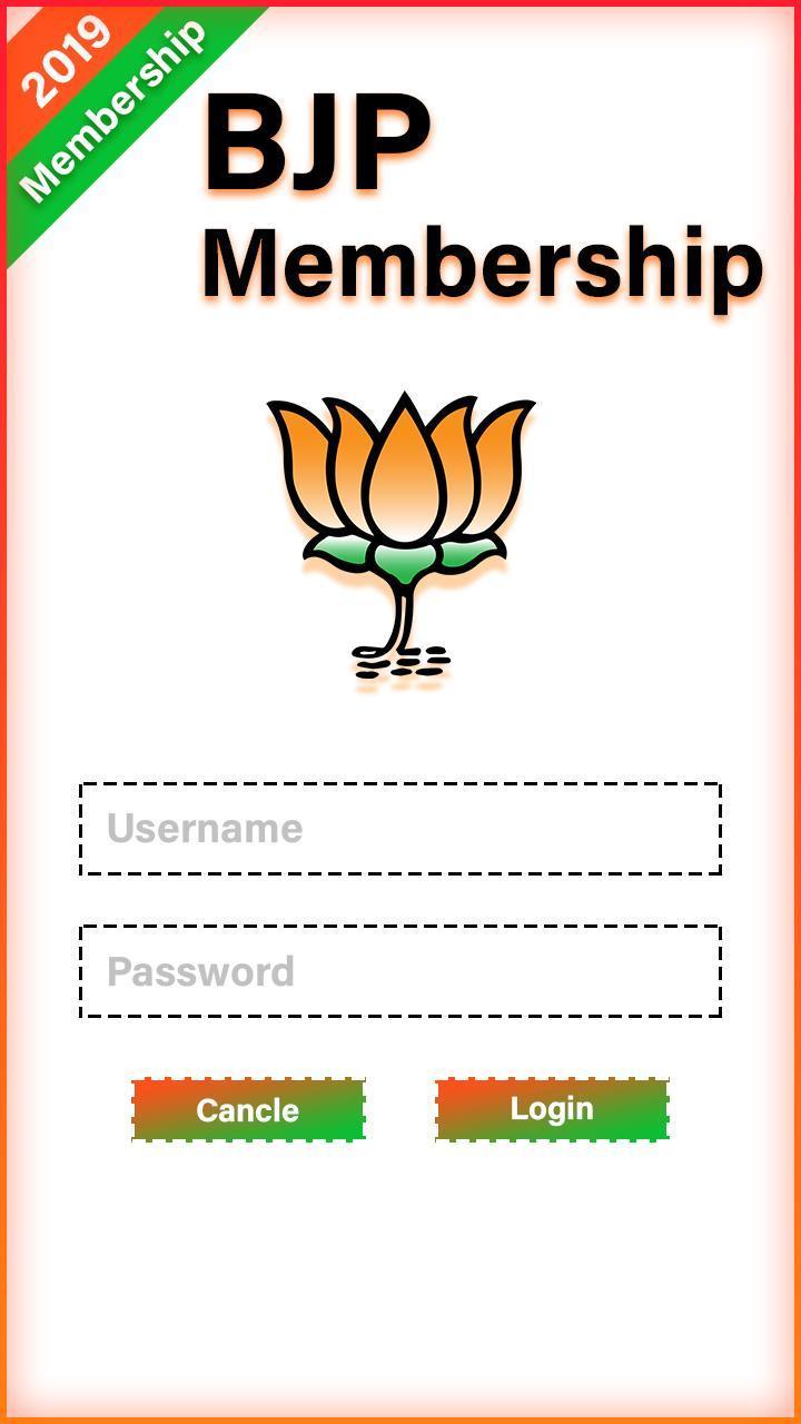 Bjp Membership Card For Android Apk Download