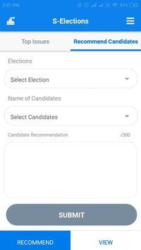 S-Elections screenshot 2