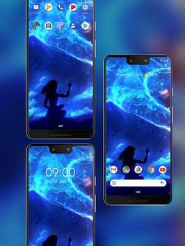 Blue beautiful star river live wallpaper screenshot 3