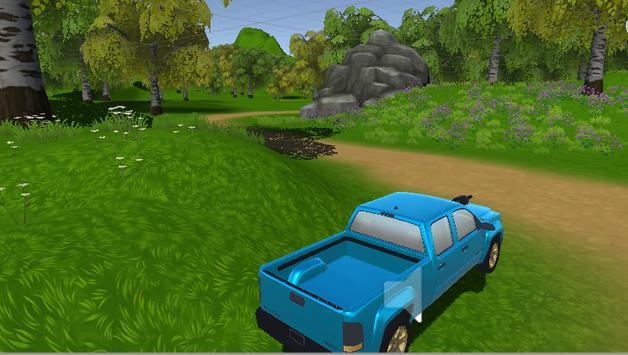 [강원영] 픽업트럭 (숲속운전) screenshot 1