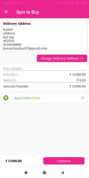 Spin To Buy- Online Shopping With Wallets Coins screenshot 5