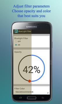 Bluelight Filter for Eye Care poster