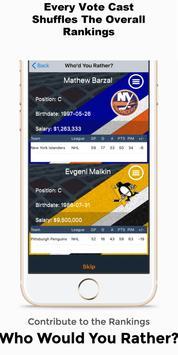 NHL RankKing تصوير الشاشة 3