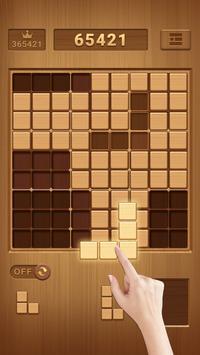Block Sudoku Klasyczna darmowa układanka dla mózgu plakat