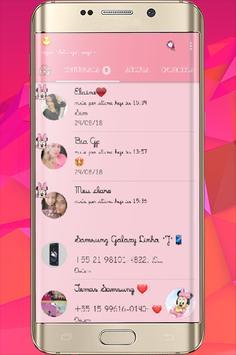 GB WA Pink Transparan Update screenshot 6