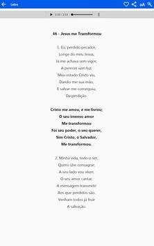 Cantor Cristão स्क्रीनशॉट 10