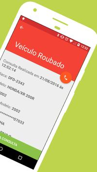 Consulta de Veiculos Pela Placa - Furto, Roubo screenshot 2