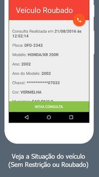 Consulta de Veiculos Pela Placa - Furto, Roubo screenshot 4