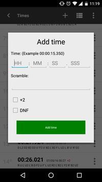 Cube timer screenshot 6