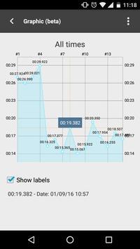 Cube timer screenshot 3