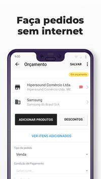 Gestão e controle de pedidos, vendas e clientes screenshot 2