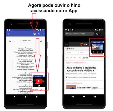 Harpa cristã + Corinhos Evangélicos screenshot 2