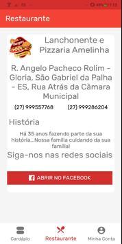 Amelinha Lanchonete, Pizzaria São Gabriel da Palha screenshot 2