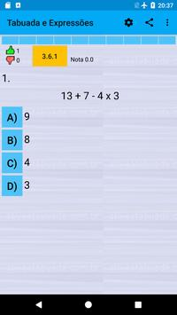 Table and Expressions screenshot 1