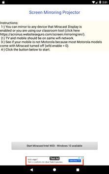 Screen Mirroring Projector screenshot 5