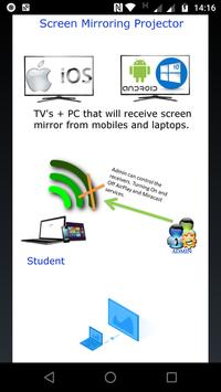 Screen Mirroring Projector poster