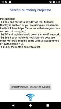 Screen Mirroring Projector screenshot 1