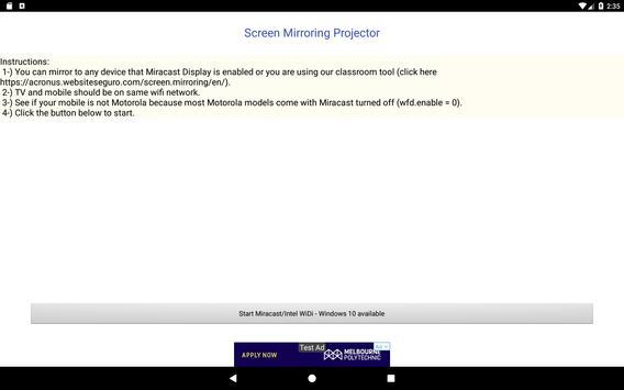 Screen Mirroring Projector screenshot 3