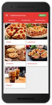 Traddicional Pizzas poster