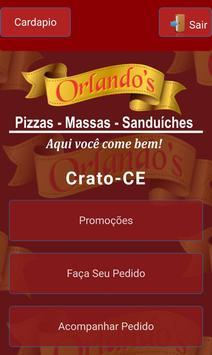 Orlandos Pizzaria screenshot 1