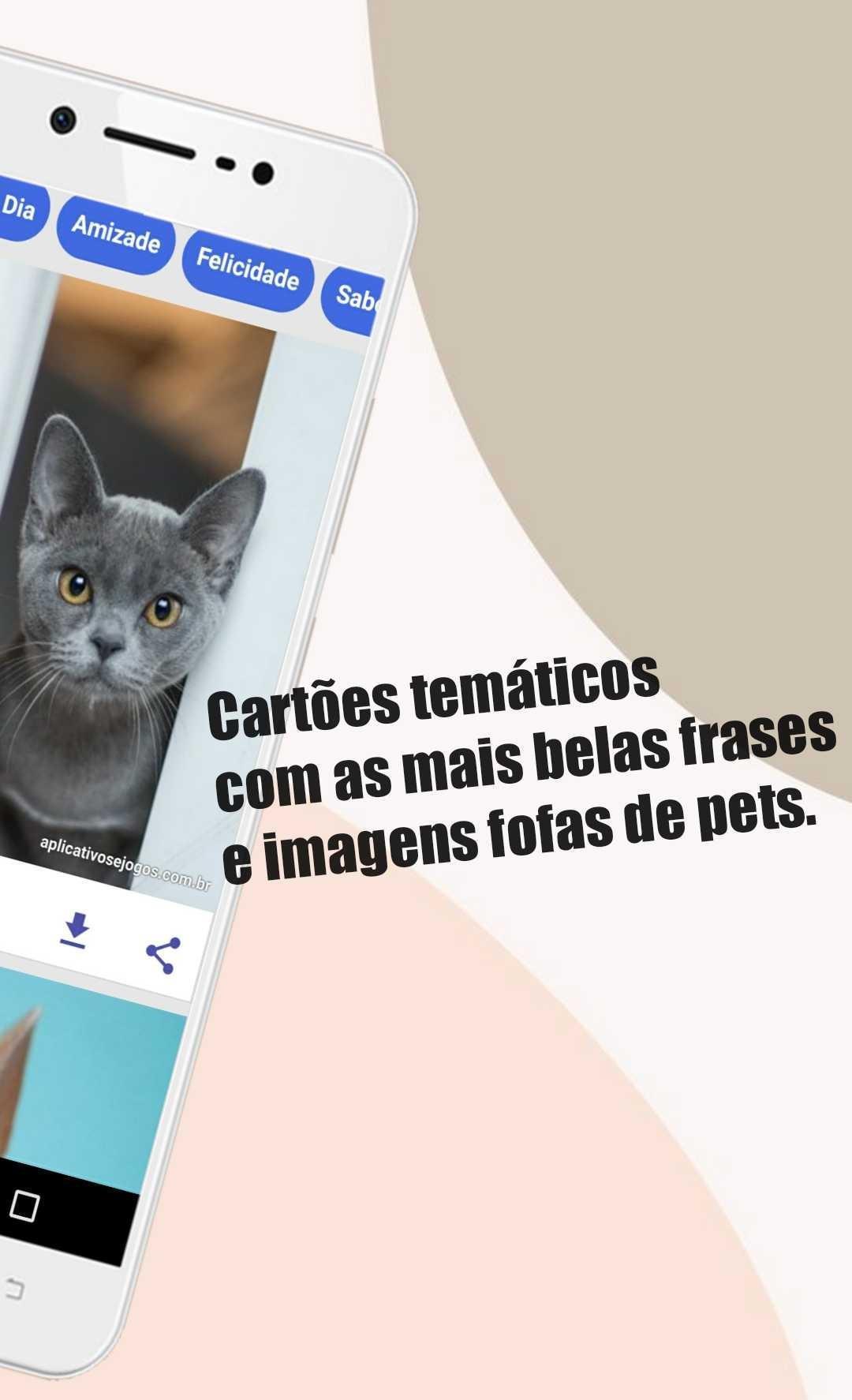 Pet Card Lindas Frases Com Imagens De Pets For Android