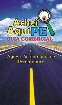 Guia Comercial Achei aqui PE poster