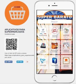 APLICATIVO MODELO PARA SUPERMERCADOS poster