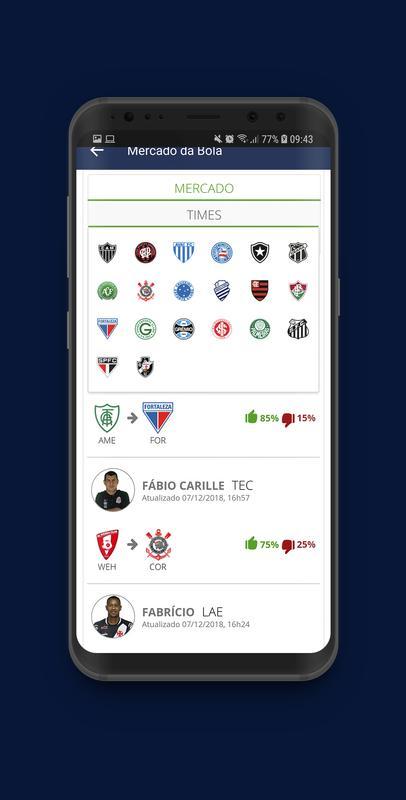 Mercado da Bola 2019 - Vai e Vem ! for Android - APK Download e4e31d0ed52a9