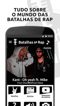 Batalhas de Rap poster