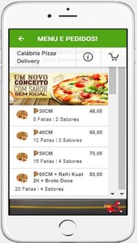 Calábria Pizza Delivery screenshot 1