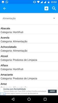 Super Lista de Compras screenshot 3