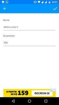 Super Lista de Compras screenshot 16