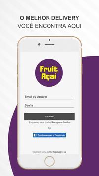 Fruit Açaí poster