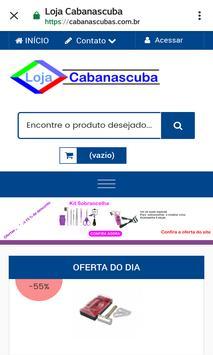 Loja Virtual Cabanascuba screenshot 6
