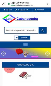 Loja Virtual Cabanascuba screenshot 9