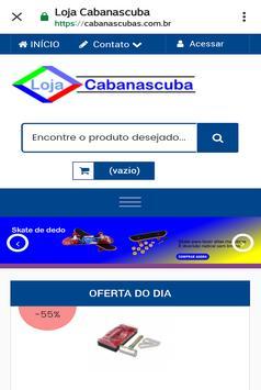 Loja Virtual Cabanascuba poster