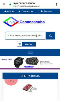 Loja Virtual Cabanascuba screenshot 12