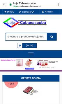 Loja Virtual Cabanascuba screenshot 3